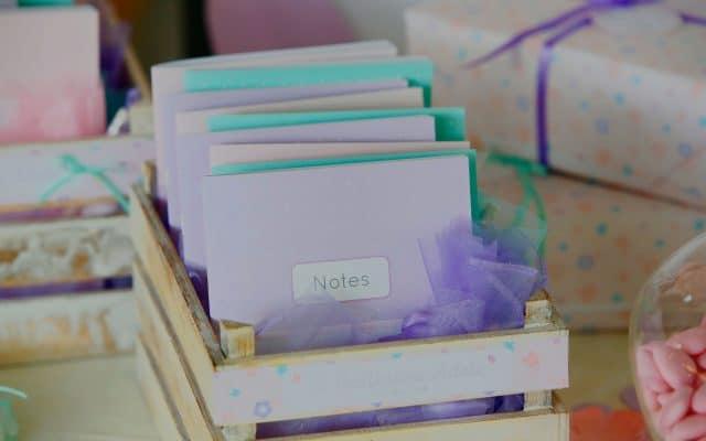 BOMBONIERA-block-notes-personalizzato-640x400 Il battesimo di Adele - speciale bomboniera