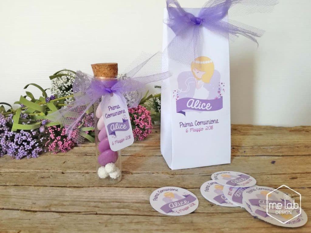 melabdesign-bomboniera-comunione-confetti-fialetta-sacchettino-sumisura-personalizzato Creatività per eventi