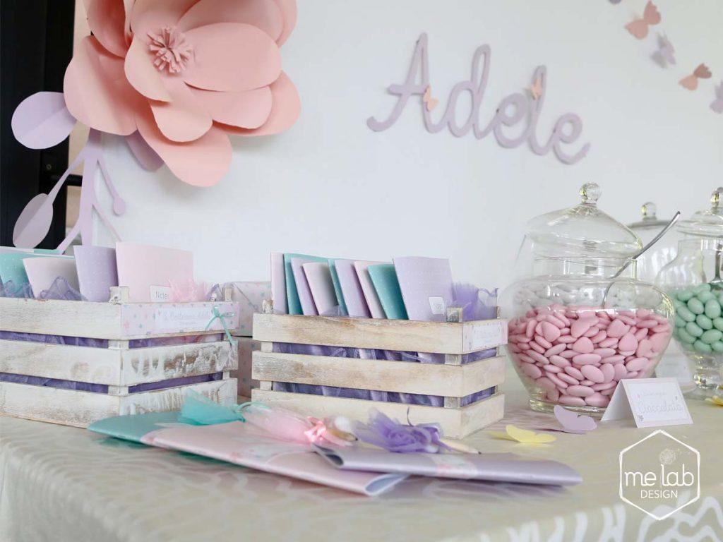melabdesign-tavolo-bomboniere-fiori-carta Creatività per eventi